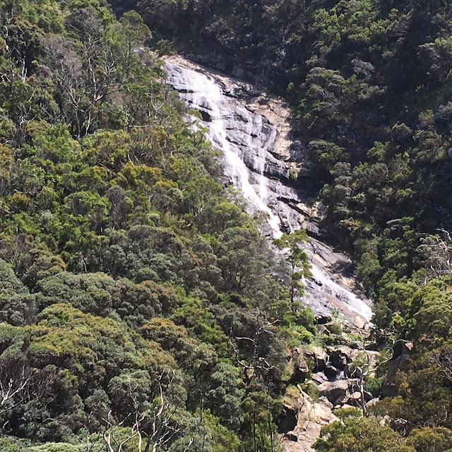 waterfall in bushland