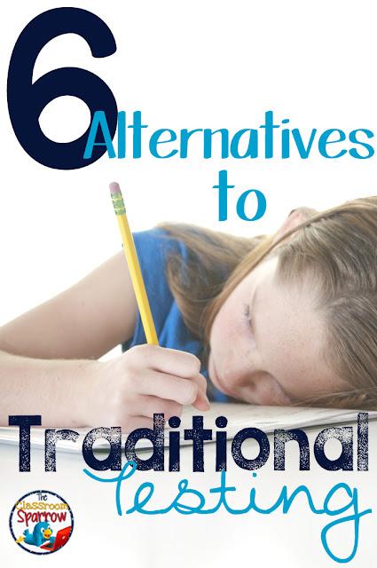 traditional testing alternatives