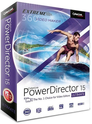 CyberLink PowerDirector Ultimate 16.0.2101.0 poster box cover