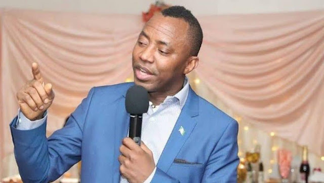 Video Of Omoyele Sowore Leading Protest Against FG In Abuja On Independence Day