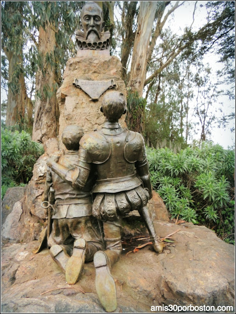Golden Gate Park: Cervantes, el Quijote y Sancho