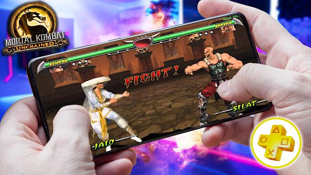 Mortal Kombat Unchained Para Android (Configuraciones) [ROM PSP]