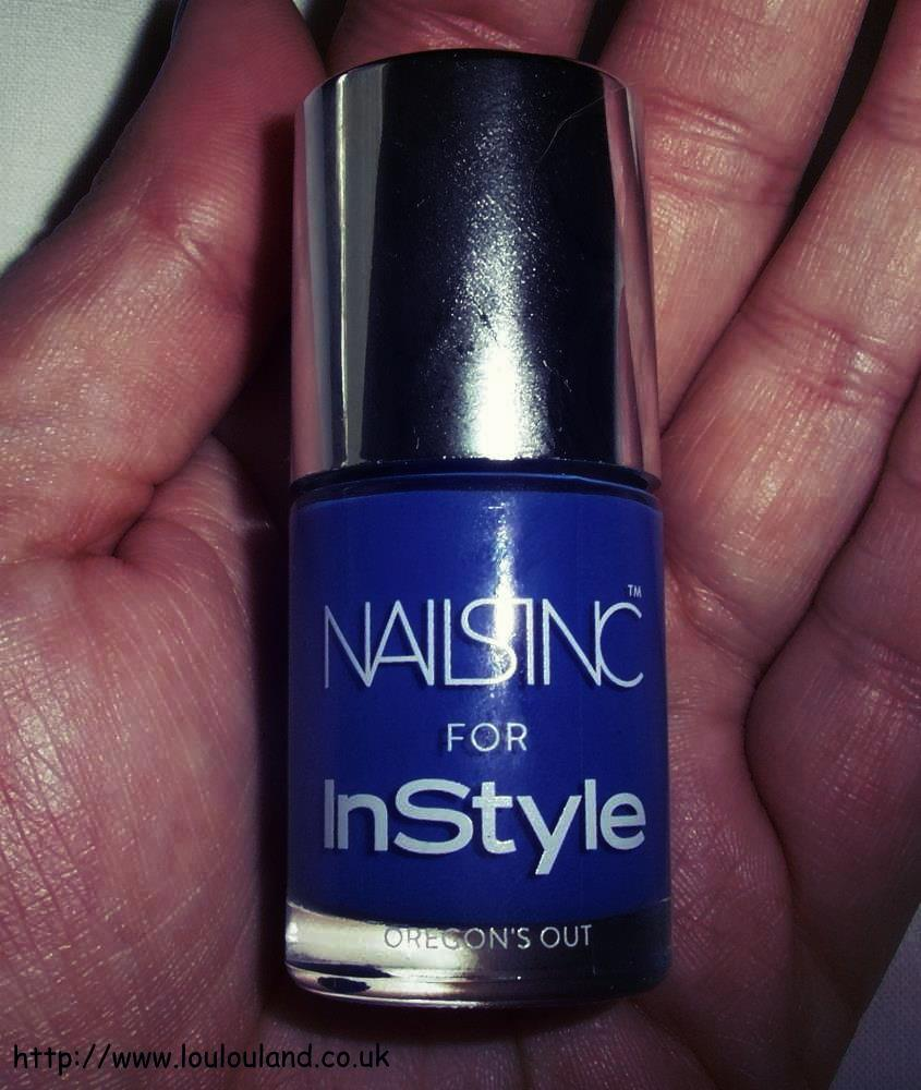 LouLouLand: Nails Of The Day - Nails Inc For Instyle - Orgeon\'s Out
