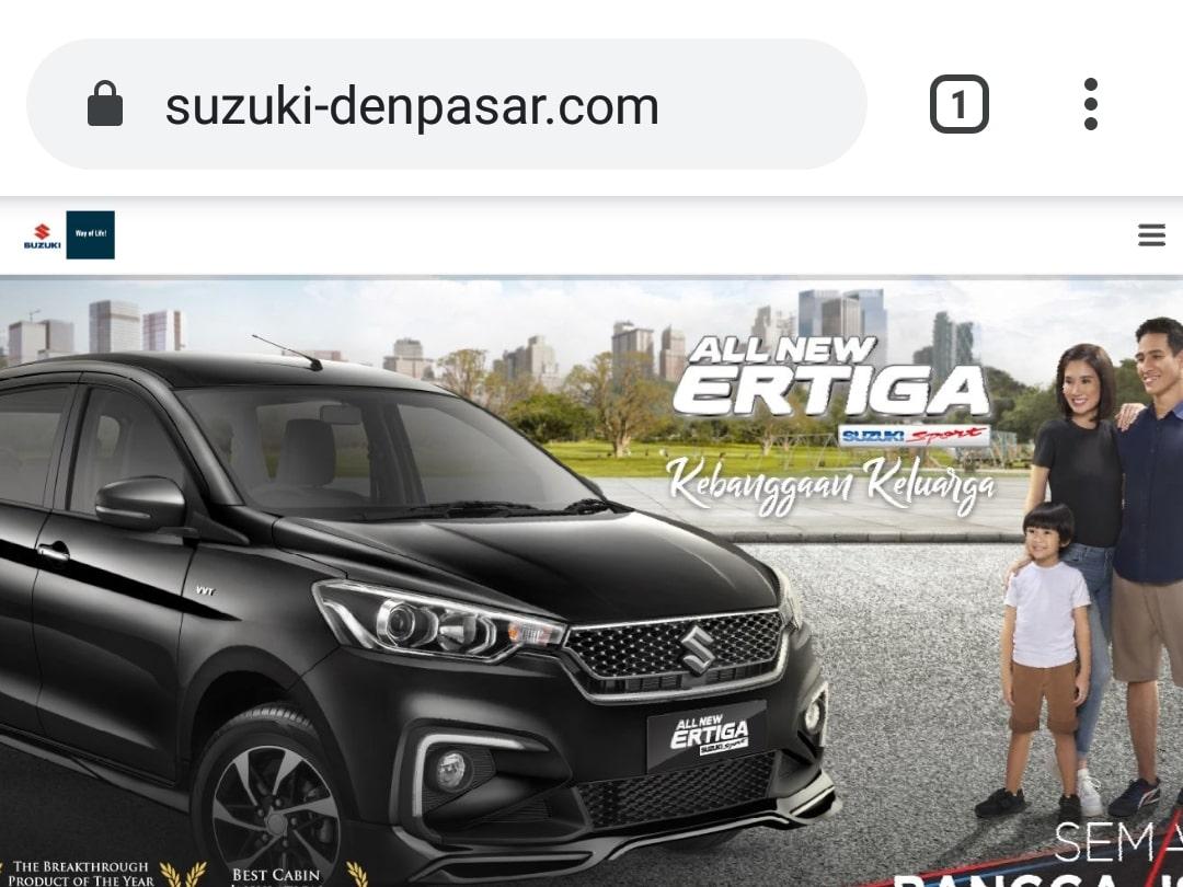 Website Suzuki Denpasar By Bayu-Media Web & Ads