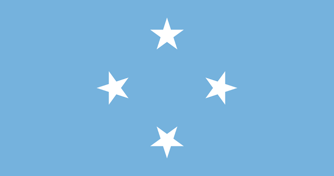 Flag of Federated States of Micronesia | Micronesian Flag | Micronesian National Flag
