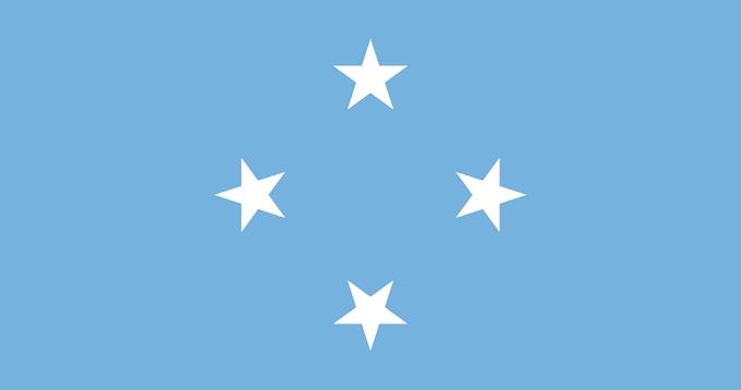Flag of Federated States of Micronesia | Micronesian Flag | Micronesian National Flag