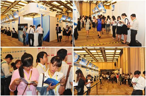Hình ảnh ngày hội việc làm các doanh nghiệp Hàn Quốc