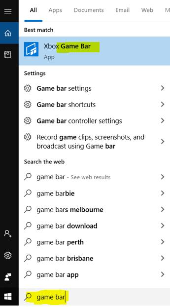 Windows 10 內建營幕錄影功能