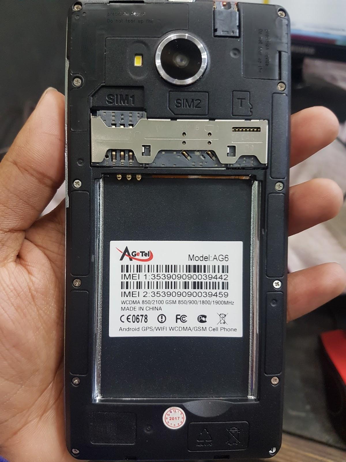 Agetel AG6 Flash File