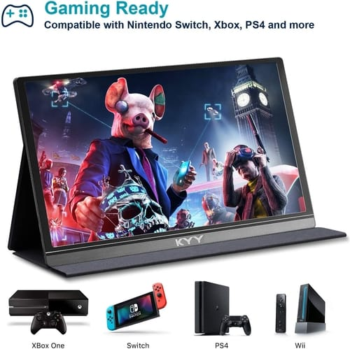 Review KYY K3 FHD USB C Portable Laptop Monitor