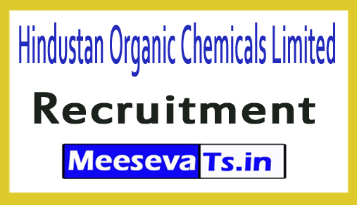Hindustan Organic Chemicals Limited HOCL Recruitment