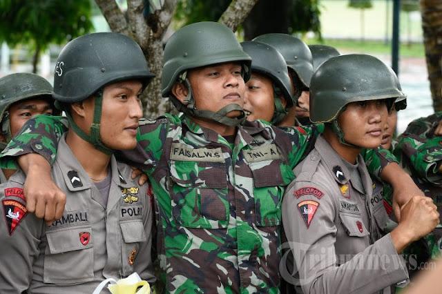 Hati-hati, Adu Domba Panglima TNI-Polri Terorganisasi