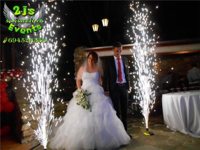 ΣΥΡΟΣ ΣΥΝΤΡΙΒΑΝΙΑ ΦΩΤΙΑΣ ΠΥΡΣΟΣ ΤΟΥΡΤΑΣ SYROS2JS EVENTS