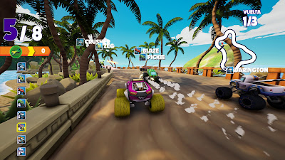 Blaze And The Monster Machines Axle City Racers Game Screenshot 10