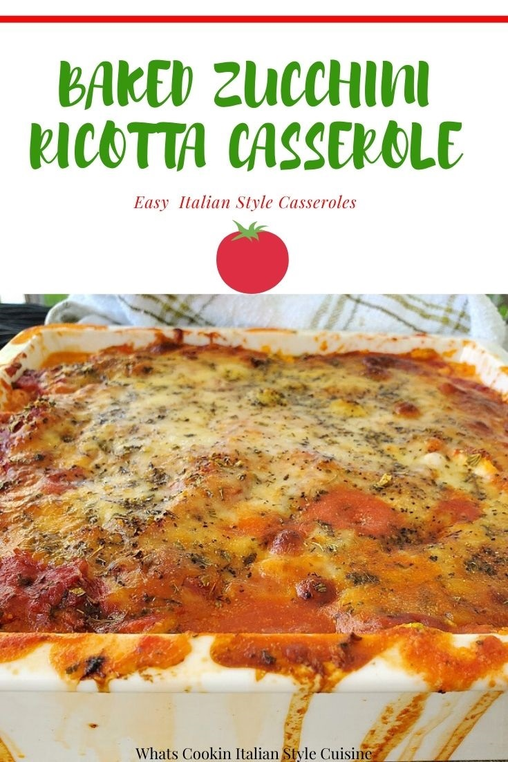 this is a pin for later zucchini casserole photo