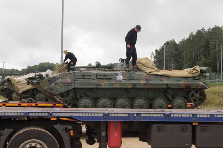 Українці прибули до Німеччини для участі у Combined Resolve