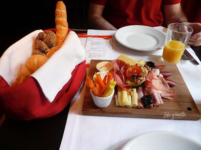 Hollinan-Beletage Viena desayuno