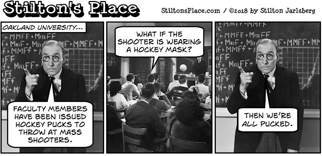stilton's place, stilton, political, humor, conservative, cartoons, jokes, hope n' change, hockey, puck, shooter