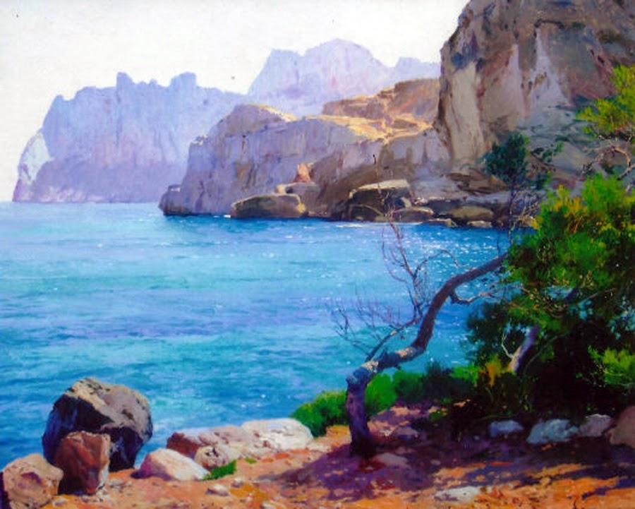 Mallorca en Pintura Jos Casanova Lujn 1933  1989