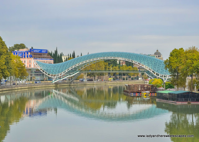 The Bridge of Peace Tbilisi