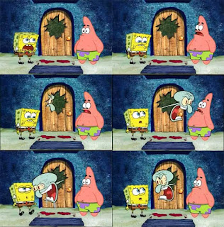 meme spongebob bacot