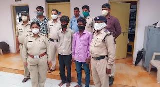सेठी नगर मे हुई चोरी का खुलासा, दो युवक गिरफ्तार