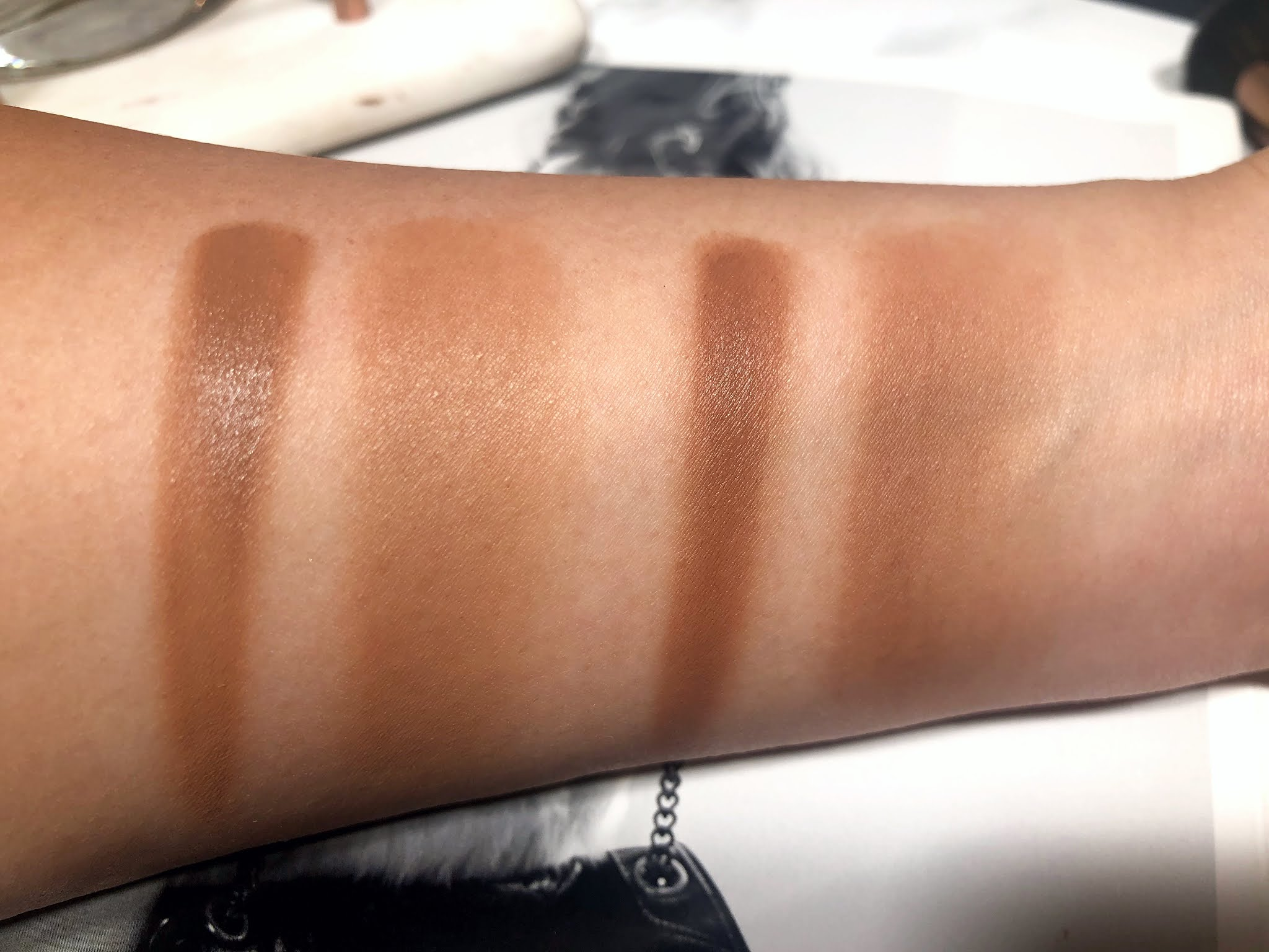NARS Sunkissed Bronzing Cream Review and Swatches
