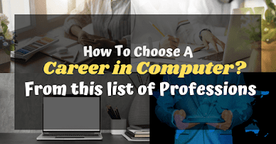 How To Choose A Career In Computer Science List Of Professions