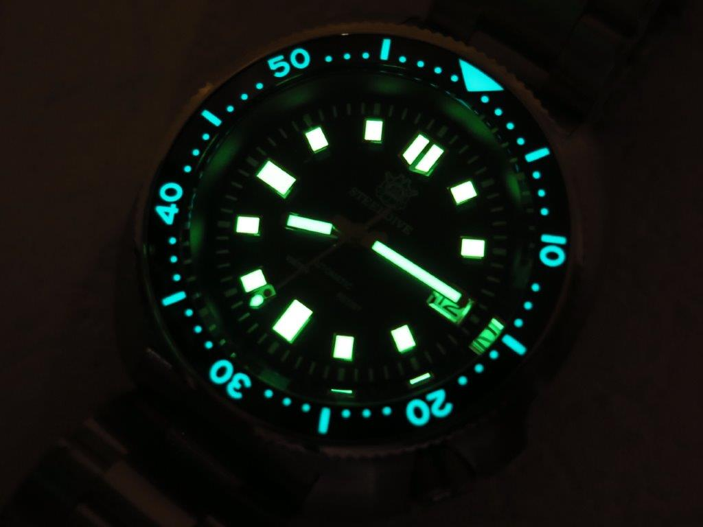 STEEL DIVE 200m 6105 MODEL CASE - AUTOMATIC NH35