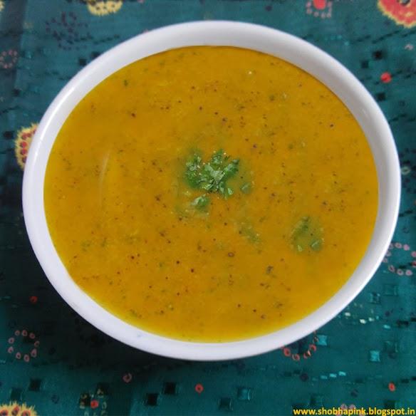 Carrot Criander Ginger Soup