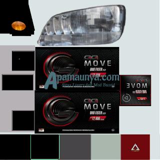 Download Livery Truck Hino Box GG Move