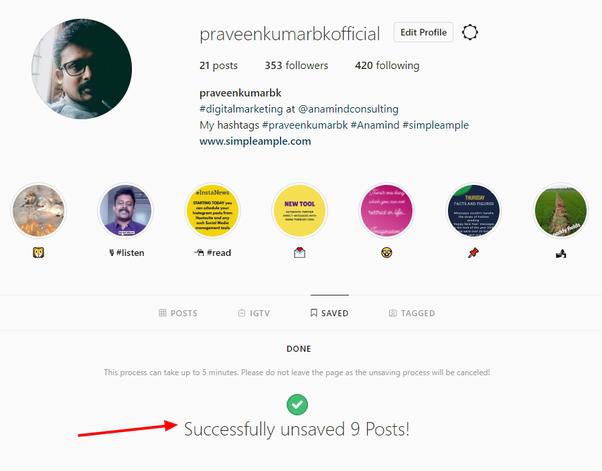 run unsaver for instagram