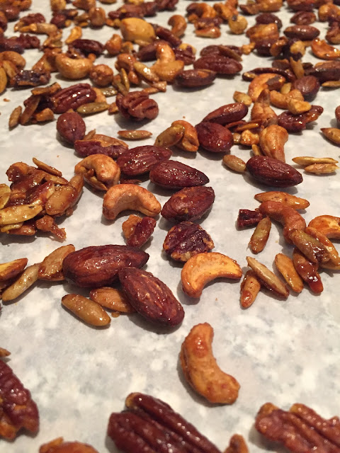 Moroccan spiced nuts recipe