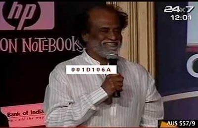 Sharuhk Khan interviewed Rajinikanth