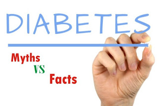 myths about diabetes and their facts