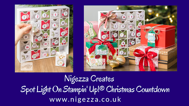 Nigezza Creates with Stampin' Up! Christmas Countdown Project Kit