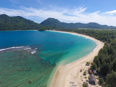 Lampuuk Beach, Only on this beach you can enjoy the view of the beach, cliff climbing and also study, which is joining with the local in conserve the turtle.