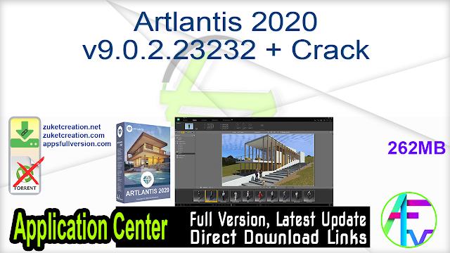 Artlantis 2020 v9.0.2.23232 + Crack
