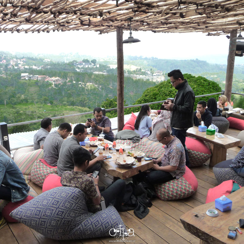 Lereng Anteng, Panoramic Ngopi Place Seru di Bandung
