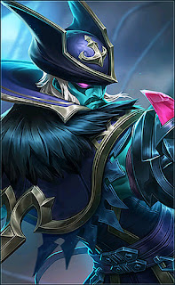 Roger Phantom Pirate Heroes Fighter Marksman of Skins