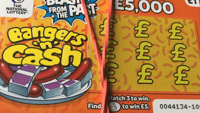 Orange Bangers 'n' Cash Scratchcard