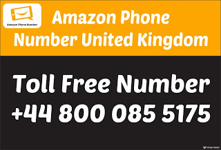 Amazon Phone Number UK (United Kingdom) toll free number