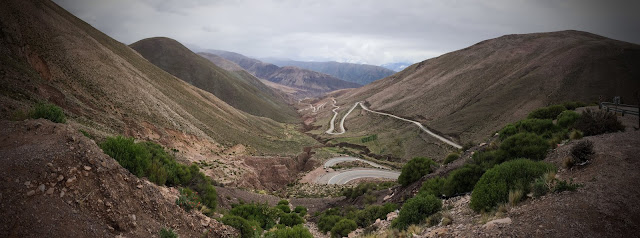 Din Purmamarca spre Salinas Grandes, Argentina