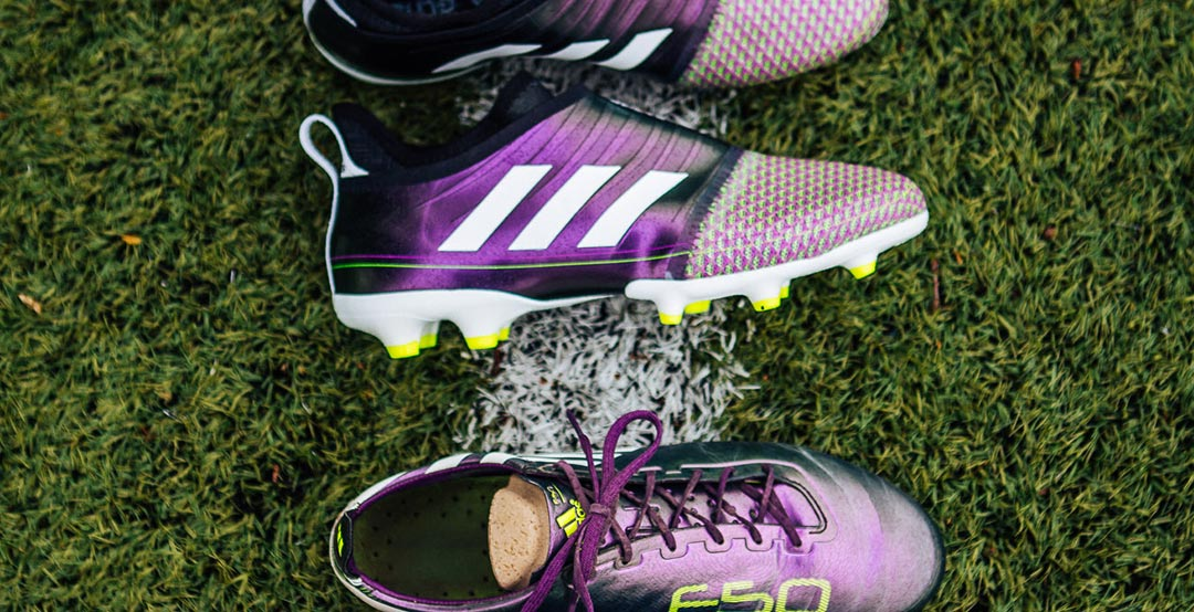 c648cd8c542 The latest Adidas Glitch football boot pack celebrates the classic Adidas  Copa Mundial and the outstanding Adidas F50 Adizero Messi boot of the 2010  World ...