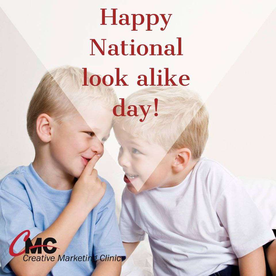 National Look-Alike Day Wishes Lovely Pics
