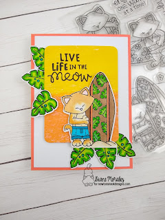 Summer Fun a card by Diane Morales| Newto's Perfect Wave Stamp Set by Newton's Nook Designs