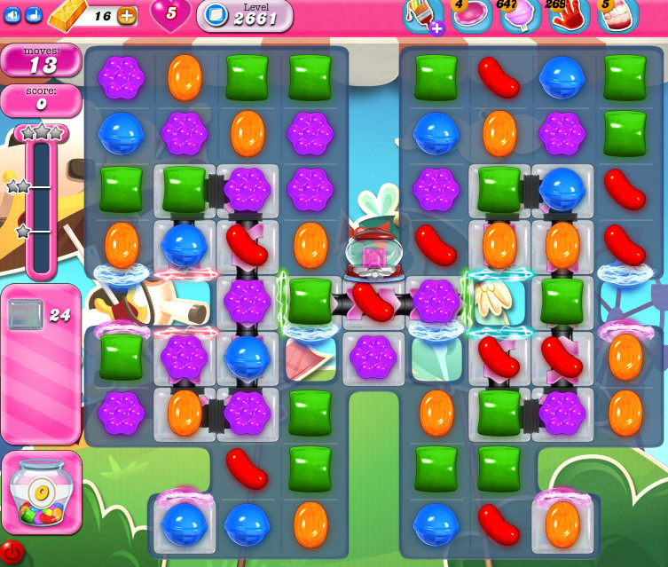 Candy Crush Saga level 2661