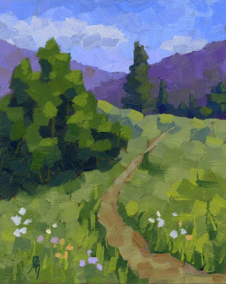 art original for sale painting nature mountain outdoors