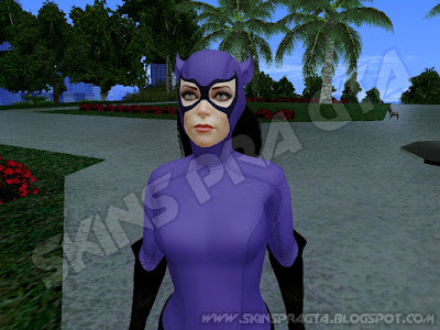 GTA SA - Skin Catwoman 90s DLC From Batman: Arkham Knight