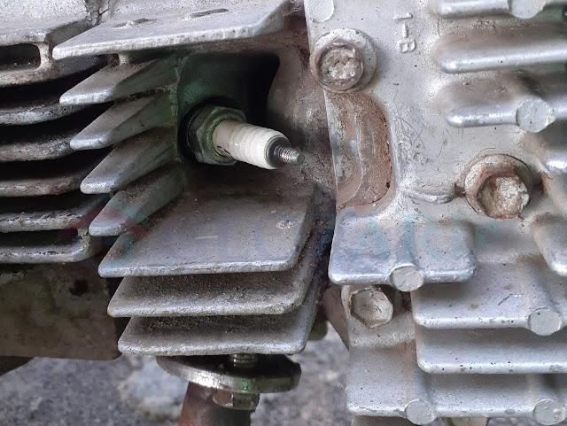 Memperbaiki Drat Busi Aus (Dol) Dengan Kaleng Bekas